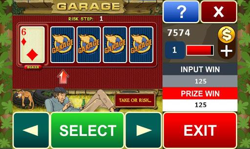 Garage slot machine 16 7