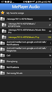 MePlayer Music Premium Cracked Apk 3