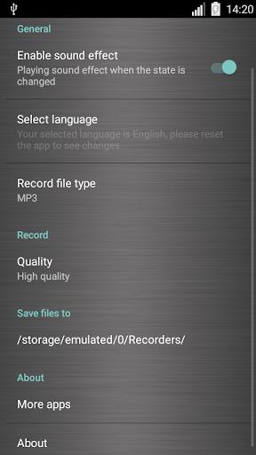 Voice recorder 1.38.463 Screenshots 7