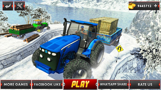 Farm Tractor Cargo Driving Simulator 20 screenshots 11