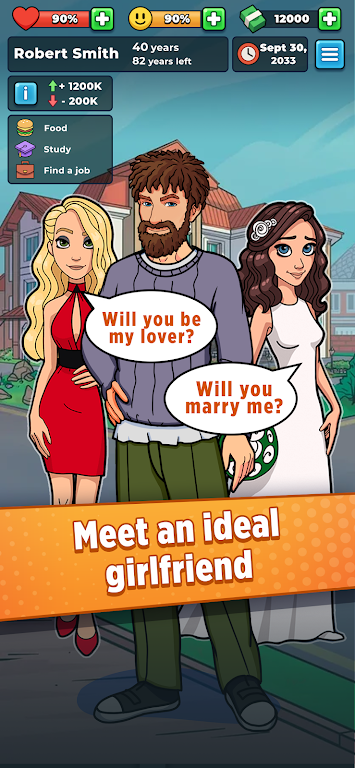 Hobo Life: Business Simulator & Money Clicker Game poster 1