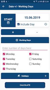 Date Calculator - Days between Dates
