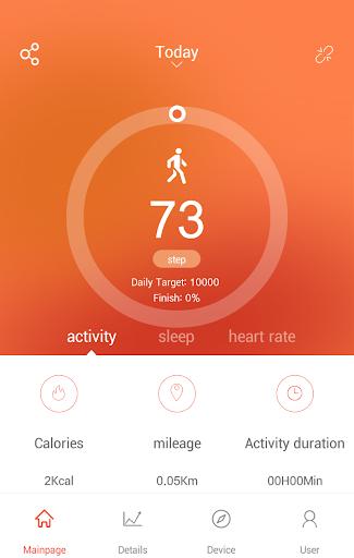VeryFitPro android2mod screenshots 1