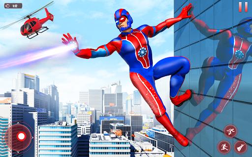 Flying Robot Superhero: Rescue City Survival Games 1.22 Screenshots 13