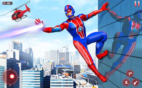 Flying Robot Superhero: Rescue City Survival Games 7