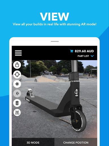 Scooter Hut 3D Custom Builder  screenshots 10