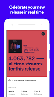 screenshot of Spotify for Artists