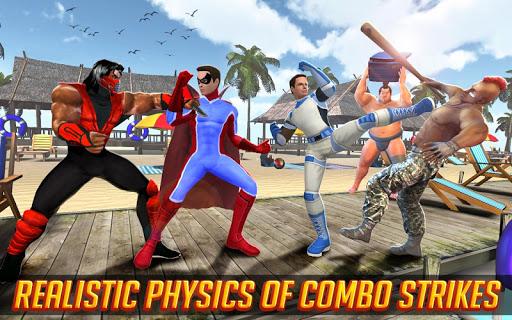 Superhero Street Fights - City Rescue Battle 4 screenshots 1