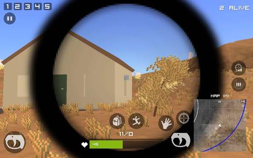 Grand Pixel Royale Battlegrounds Mobile Battle 3D  screenshots 13