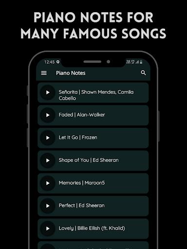 Play Piano: Melodies | Piano Notes | Keyboard  screenshots 3