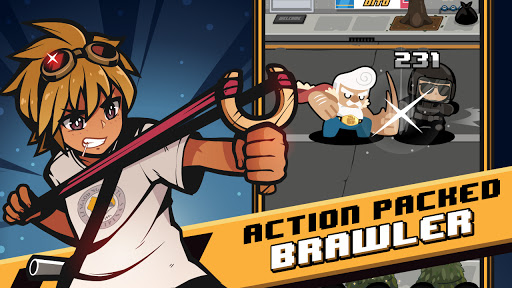 Brawl Quest - Beat Em Up Fighting Action modiapk screenshots 1
