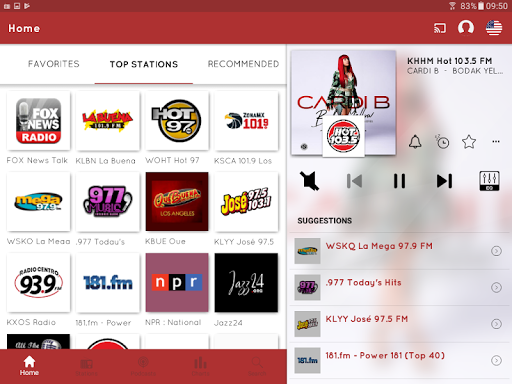 Foto do myTuner Radio and Podcasts