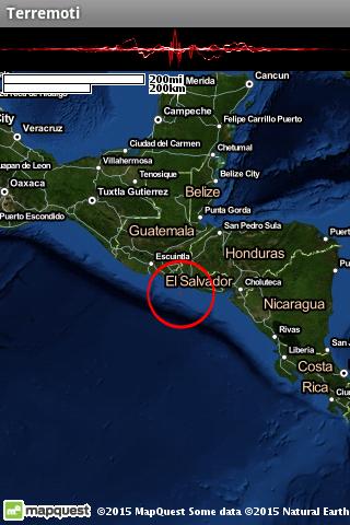 Terremoti ed alert  Screenshots 8
