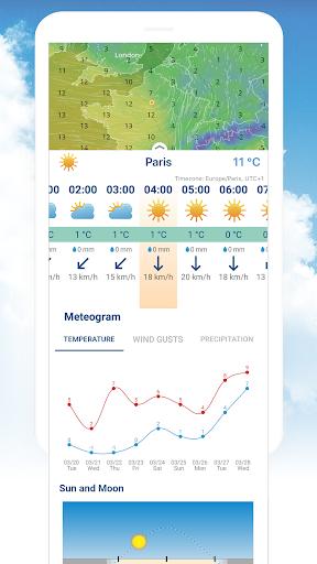 Ventusky: Weather Maps 14.0 Screenshots 4