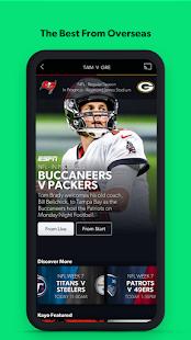 Kayo Sports - for Android TV screenshots 4