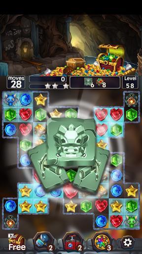 Jewel Mine Quest: Match-3 puzzle 1.1.7 screenshots 4