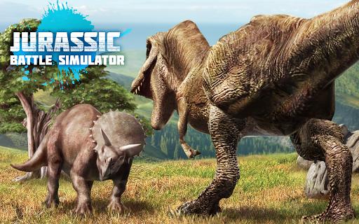 Jurassic Battle Simulator 3D  screenshots 1