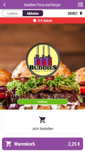 Buddies Pizza und Burger 3.1.0 screenshots 1