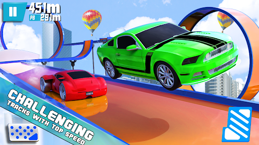 Mega Ramp Hot Car Stunt Race Off: Car Racing Games  Screenshots 3