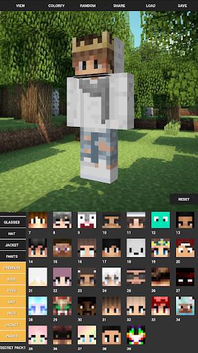 Custom Skin Creator For Minecraft apktram screenshots 7