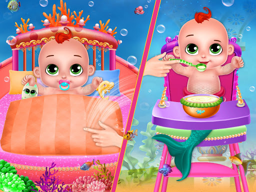 Little Mermaid Baby Care Ocean World 2.0 screenshots 10