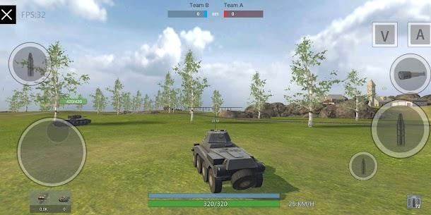 Panzer War Mod Apk 2020.11.06.1 (Free Shopping) 3