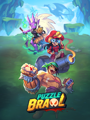 Puzzle Brawl - Match 3 RPG & PvP Battle Tactics apkpoly screenshots 12