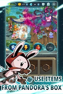 Rabbit in the moon Screenshot