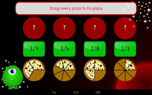 3rd 4th Grade Fractions Maths 1.7 Mod + APK + Data UPDATED 3