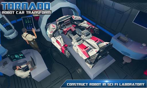 Tornado Robot Car Transform: Hurricane Robot Games 1.0.5 Screenshots 7