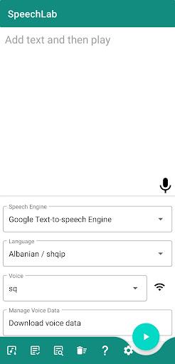 SpeechLab - Simple Text to Speech, Speech to Text screenshots 1