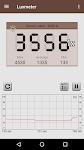screenshot of Smart Luxmeter