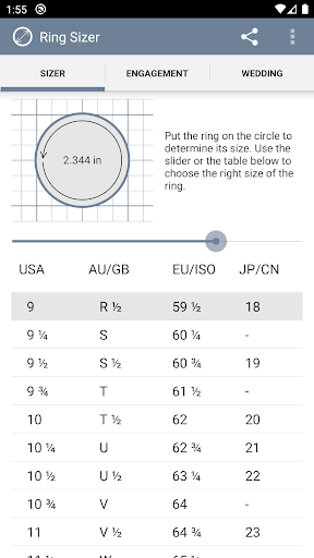 Ring Sizer by Jason Withers u00a9 modavailable screenshots 2