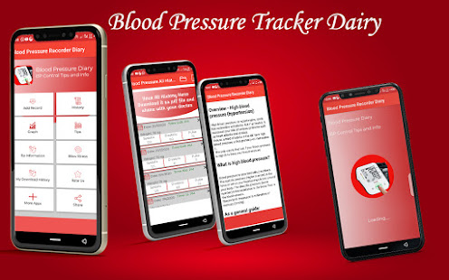 Blood pressure Tracker & bp diary 1.25 Screenshots 8