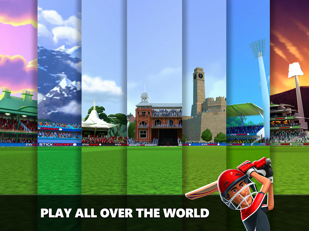 Stick Cricket Live 21 - Play 1v1 Cricket Games poster 21