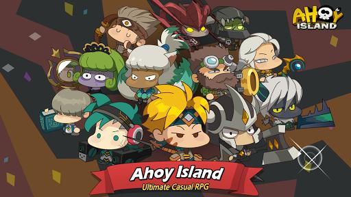 Code Triche Ahoy Island - Casual RPG APK MOD (Astuce) screenshots 1