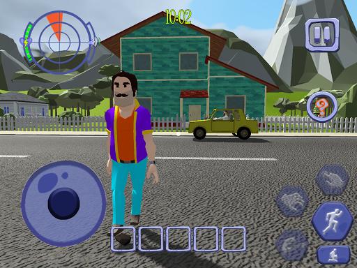 Scary Clown Man Neighbor. Seek & Escape Apkfinish screenshots 20