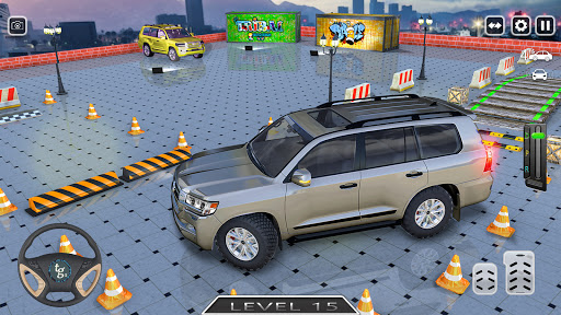 New Prado Car Parking Free Games - Car Simulation 2.0 screenshots 12