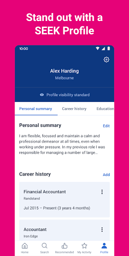 SEEK Job Search apktram screenshots 5