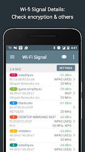 Скриншот №2 к Network Analyzer Pro