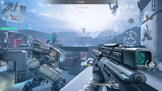 Infinity Ops: Online FPS Cyberpunk Shooter 1.11.0 Screenshots 7