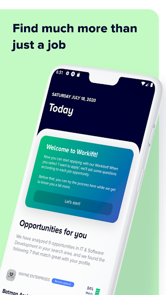 Workifit - Jobs and career development