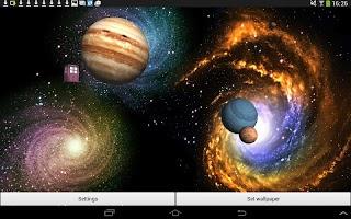 Space Live Wallpaper 3D
