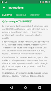 7 Minutes Workout Capture d'écran