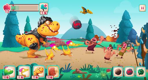 Dino Bash - Dinosaurs v Cavemen Tower Defense Wars 1.3.10 Screenshots 12