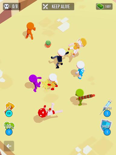 Stickman 3D - Street Gangster android2mod screenshots 15