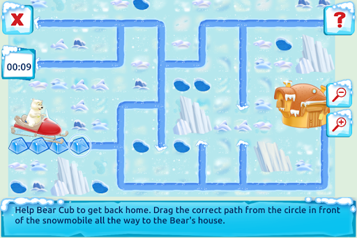 Polar Bear Cub - Fairy Tale with Games Free  screenshots 5