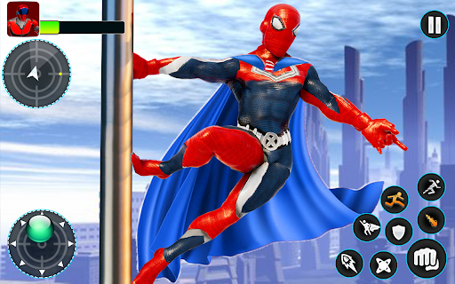 Flying Robot Hero - Crime City Rescue Robot Games 1.7.7 screenshots 10