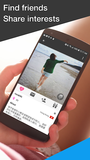Unbordered - Foreign Friend Chat 6.0.7 Screenshots 4
