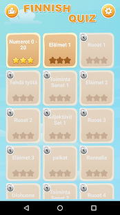 Finnish Game: Word Game, Vocabulary Game